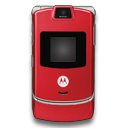 Motorola RAZR Red Icon