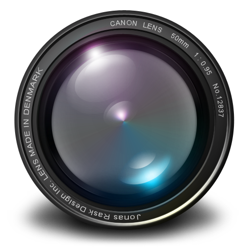 Aperture 3 50mm 0 95 Purple Icon