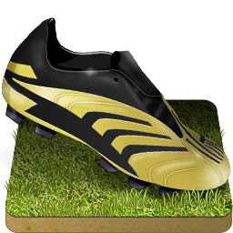 Soccer shoe grass Icon