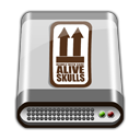 GREY HD ALIVE Icon