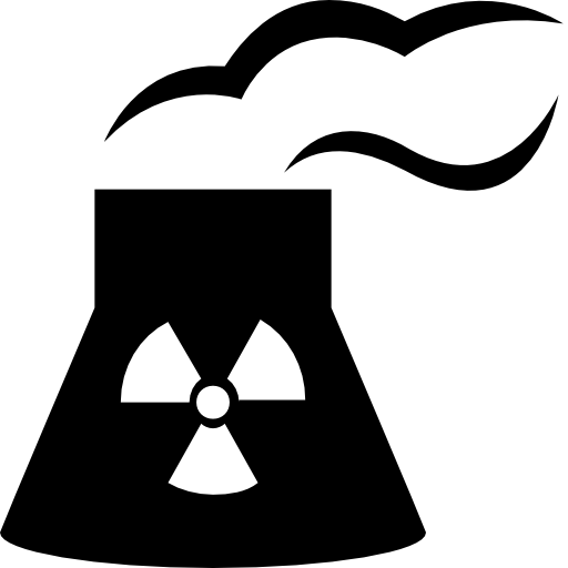 Industry nuclear power plant Icon