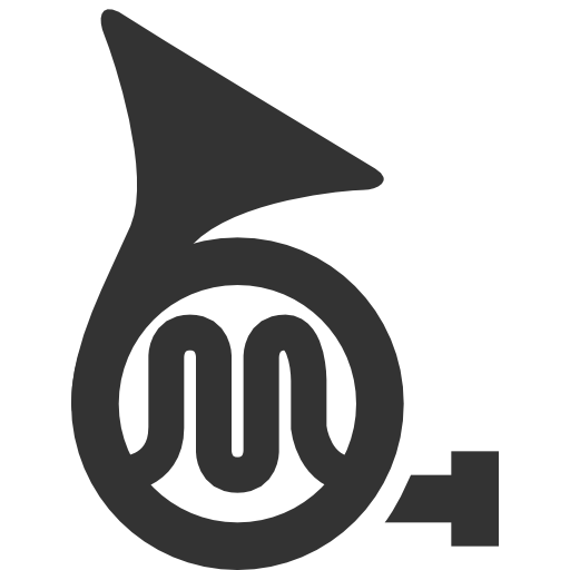 Music french horn Icon