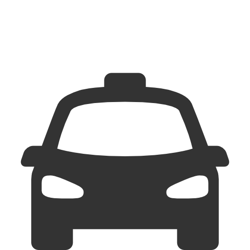 Transport taxi Icon