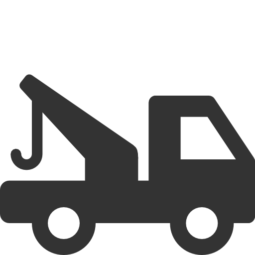 Transport tow truck Icon