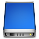 Internal Drive blue Icon
