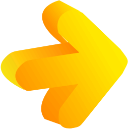 Arrow Yellow 01 Icon