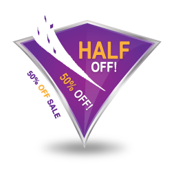 Half Sale Vector Icons Free Download In Svg Png Format