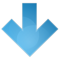 arrow down icon free download as PNG and ICO formats