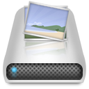 Drives Pictures Icon