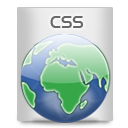 File Types CSS Icon