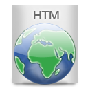 File Types HTM Icon