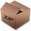 File Types zip Icon