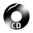 Black CD Icon