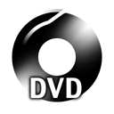 Black DVD Icon