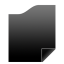 Black Document Icon