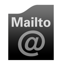 Black Mailto Icon