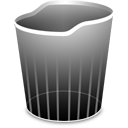 Black TrashEmpty Icon
