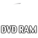 Clear dvdram Icon