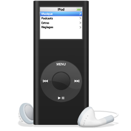 iPod nano noir Icon