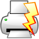 Action file quick print Icon