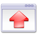 Action window fullscreen Icon