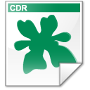 Mimetype cdr Icon