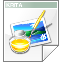 Mimetype krita paint Icon