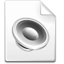 Mimetype sound Icon