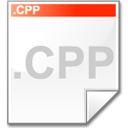 Mimetype source cpp Icon