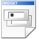 Mimetype widget doc Icon