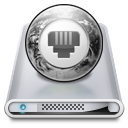 Drives Network Offline Icon