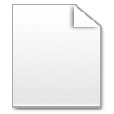 Mimetypes Blank Document Icon
