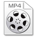 Mimetypes mp 4 Icon