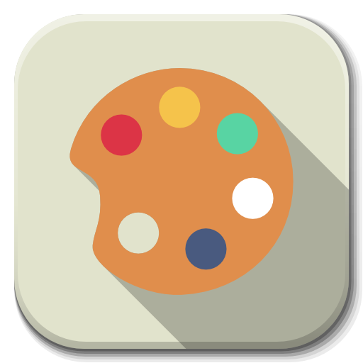 Apps color D Icon