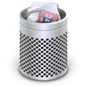 Dock Full Trash Alt Icon