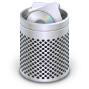 Dock Full Trash Icon