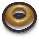 Donut, The Bagel's Glazed and Sometimes Sprinkled Cousin Icon