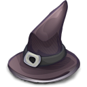 Witch Hat, 'twas Supposed To Be In The Halloween Set of Yore Icon