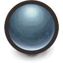 Blue Sphere Icon