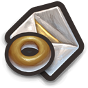 Donut Mail Icon