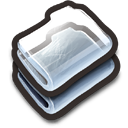 Glass Folders Icon