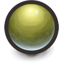 Green Sphere Icon