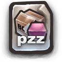Poser Compressed File   .PZZ Icon