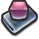 Purple Cubes Icon