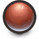 Red Sphere Icon