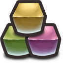 These Cubes don't really represent SQL or defragmentation but hey, what can you do Icon