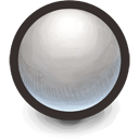 White Sphere Icon