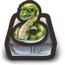 aaAaah snake! Snaaake!! oh, it's a snake! Icon