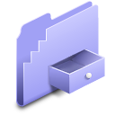 Drop Box Folder alt Icon