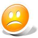 Webdev emoticon sad Icon